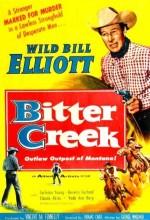Bitter Creek (1954) afişi
