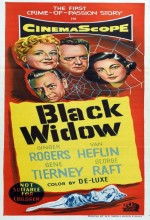 Black Widow (1) (1954) afişi