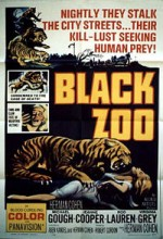 Black Zoo (1963) afişi
