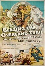 Blazing The Overland Trail (ı) (1956) afişi