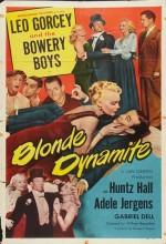 Blonde Dynamite (1950) afişi