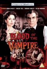Blood Of The Vampire (1958) afişi