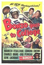 Bonzo Goes To College (1952) afişi