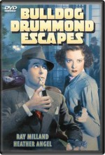 Bulldog Drummond Escapes (1937) afişi