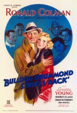 Bulldog Drummond Strikes Back (1934) afişi