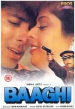 Baaghi: A Rebel for Love (1990) afişi