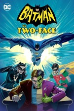 Batman vs. Two-Face (2017) afişi
