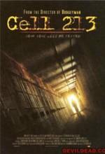 Cell 213 (2010) afişi