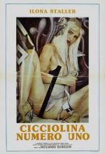 Cicciolina Number One (1986) afişi