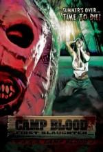 Camp Blood First Slaughter (2014) afişi
