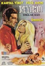 Dağlar Kızı Reyhan (1969) afişi