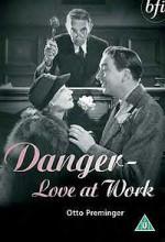 Danger - Love At Work (1937) afişi
