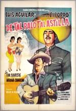 De Tal Palo Tal Astilla (1960) afişi
