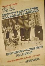 De Tre Skolekammerater (1944) afişi