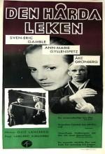 Den Hårda Leken (1956) afişi