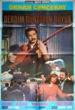 Derdim Dünyadan Büyük (1978) afişi