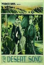The Desert Song (1929) afişi