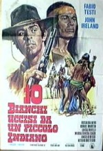 Dieci Bianchi Uccisi Da Un Piccolo Indiano (1974) afişi