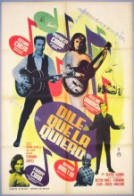 Dile Que La Quiero (1963) afişi