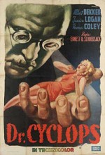 Dr. Cyclops (1940) afişi
