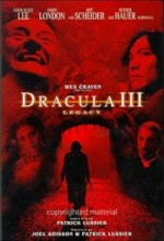 Dracula III: Legacy (2005) afişi
