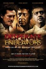 Desperate Endeavors (2012) afişi
