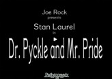 Dr. Pyckle And Mr. Pryde (1925) afişi