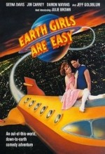 Earth Girls Are Easy (1988) afişi