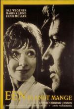 Een Blandt Mange (1961) afişi