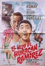 El Hijo De Huracán Ramírez (1966) afişi