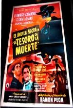 El águila Negra En El Tesoro De La Muerte (1954) afişi