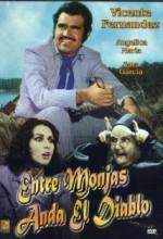 Entre Monjas Anda El Diablo (1973) afişi