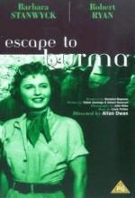Escape To Burma (1955) afişi