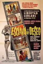Esclava Del Deseo (1968) afişi