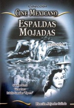 Espaldas Mojadas (1955) afişi