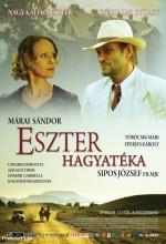 Eszter Hagyatéka (2008) afişi
