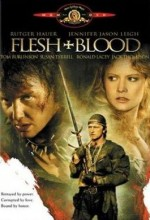 Flesh+Blood (1985) afişi