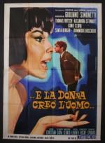 ...e la donna creò l'uomo (1964) afişi