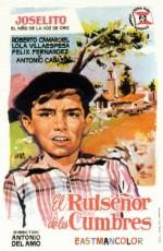 El ruiseñor de las cumbres (1958) afişi