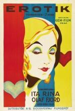 Erotik (1929) afişi