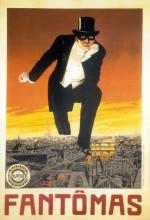 Fantômas - À L'ombre De La Guillotine (1913) afişi