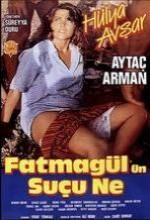 Fatmagül'ün Suçu Ne (1986) afişi