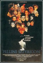Fellini Satyricon (1969) afişi