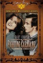 Fighting Caravans (1931) afişi