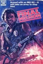 Final Mission (1984) afişi
