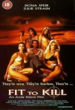 Fit To Kill (1993) afişi