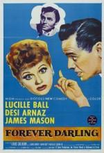 Forever Darling (1956) afişi