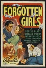 Forgotten Girls (1940) afişi