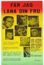 Får Jag Låna Din Fru? (1959) afişi