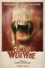 Female Werewolf (2015) afişi
